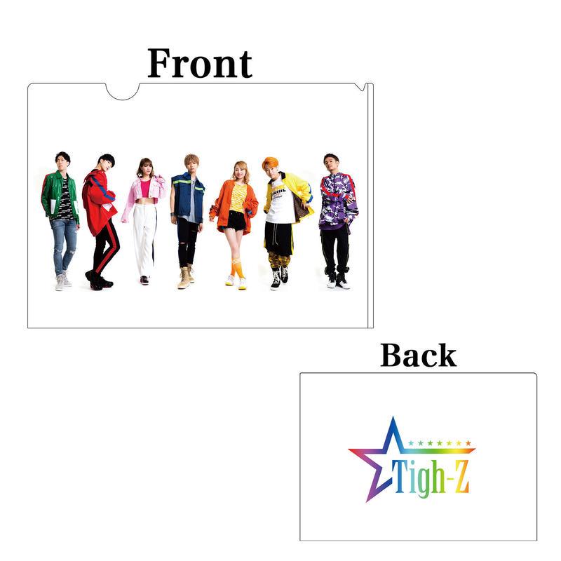 Tigh-Z オリジナル クリアファイル2枚セット Take back衣装