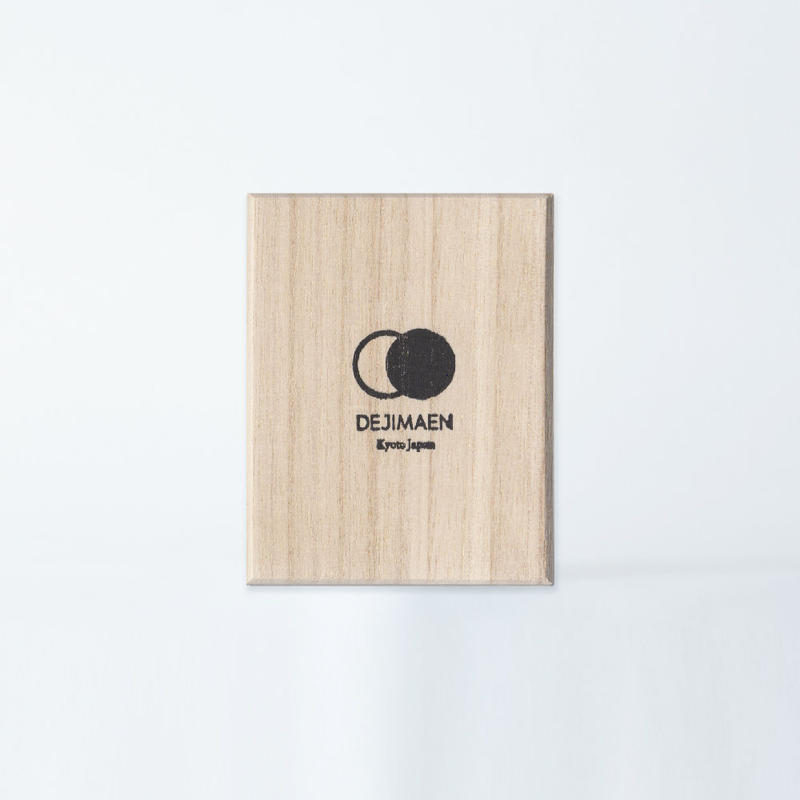 "抹茶贈答用桐箱 ー KIRI WOOD  GIFT BOX ""FOR MATCHA CAN"""