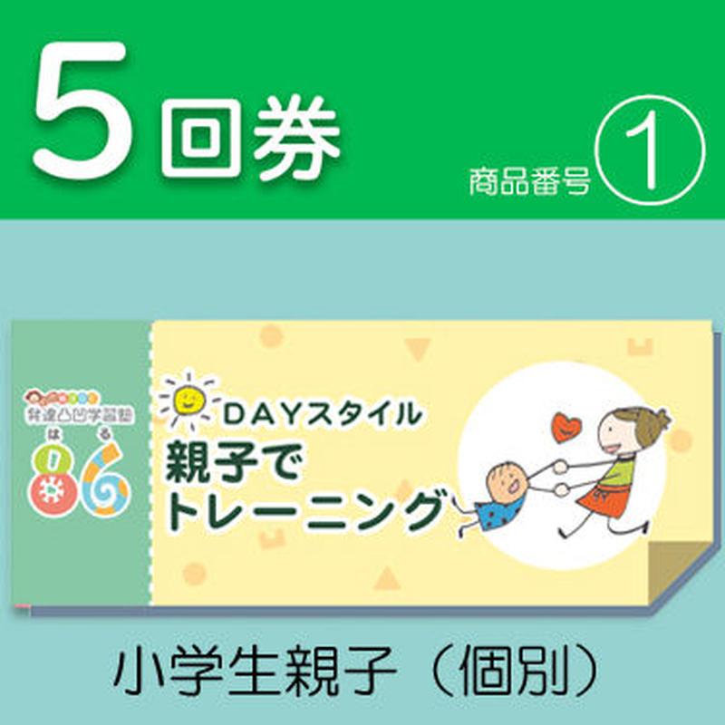 【5回券】DAYスタイル親子でトレーニング 小学生親子(個別)