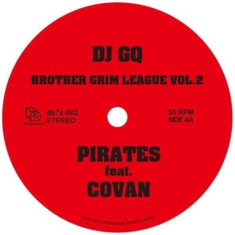 DJ GQ / PIRATES feat. COVAN【7inch】