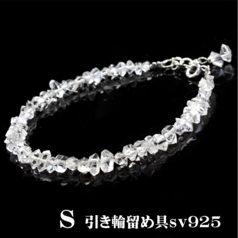 【夢の実現】ハーキマーダイヤモンドのブレスレットS☆彡