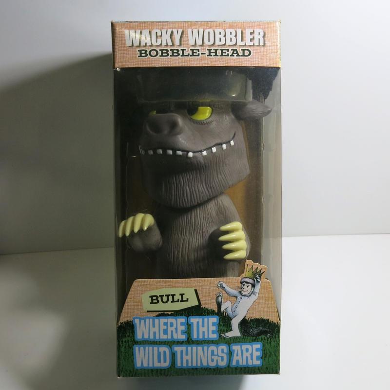 Funko -Wacky Wobbler-Bobble Head(ボビングヘッド):怪獣たちのいるところ  ブル