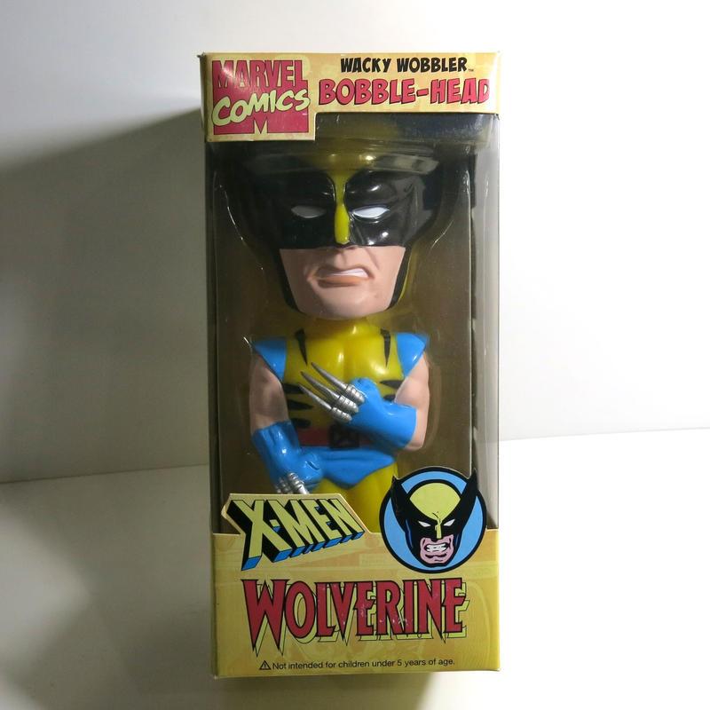 Funko -Wacky Wobbler-Bobble Head(ボビングヘッド):X-MEN ウルバリン