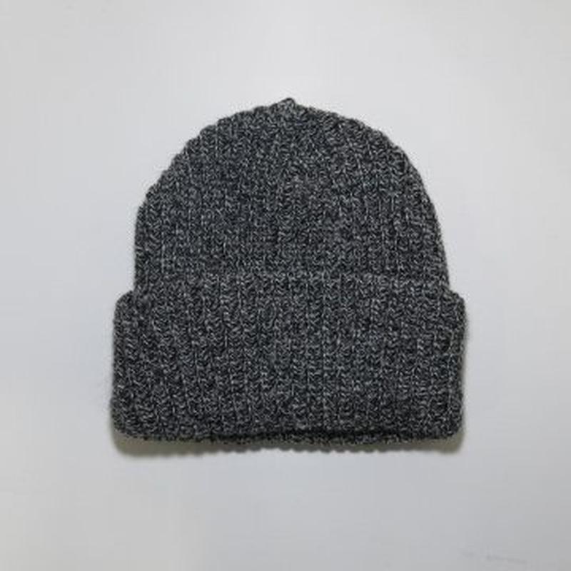 NEW YORK HAT (ニューヨークハット) CHUNKY CUFF:ブラック×ホワイト