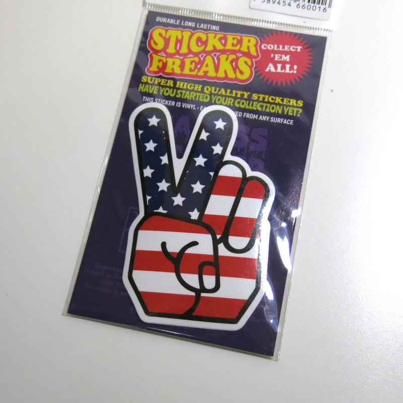 ステッカー:USA PEACE