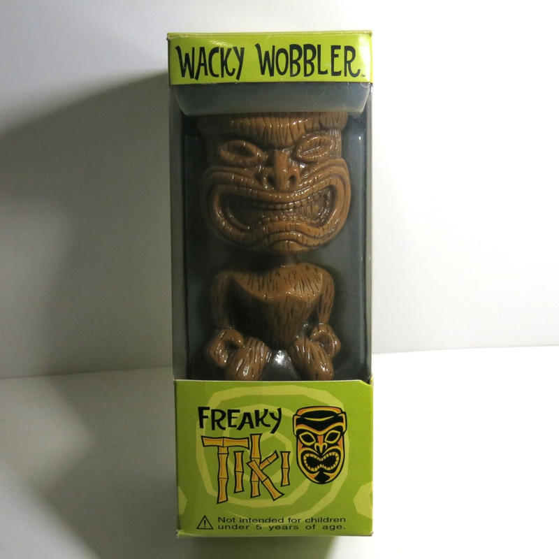 Funko -Wacky Wobbler-Bobble Head(ボビングヘッド):TIKI