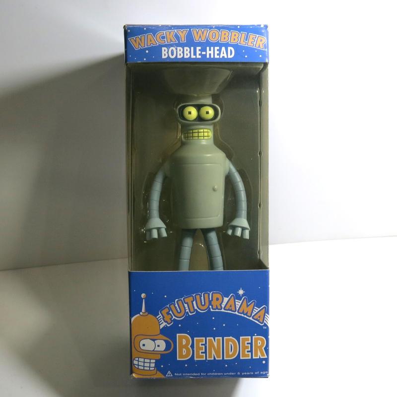 Funko -Wacky Wobbler-Bobble Head(ボビングヘッド):フューチュラマ ベンダー