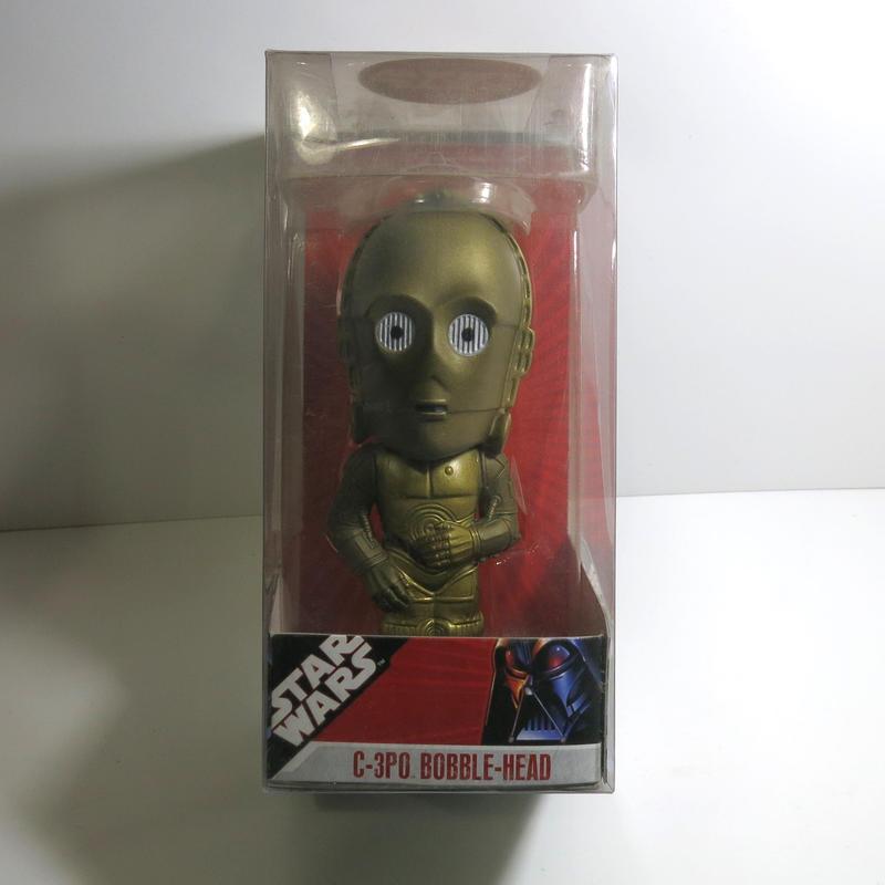 Funko -Wacky Wobbler-Bobble Head(ボビングヘッド):スターウォーズ C-3PO