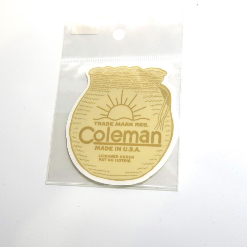 ステッカー:Coleman