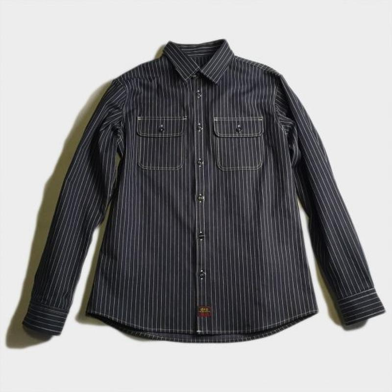 PIN STRIPE SHIRTS (NVY STRIPE)