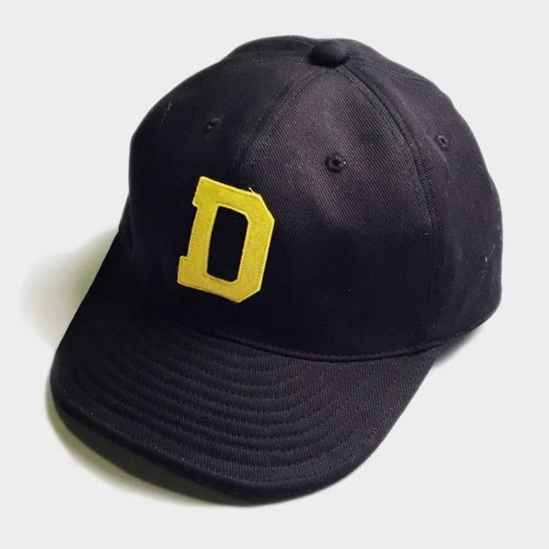 D LOGO CAP (BLACK)