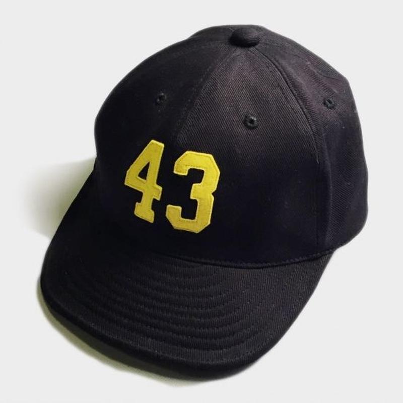 43 LOGO CAP (BLACK)