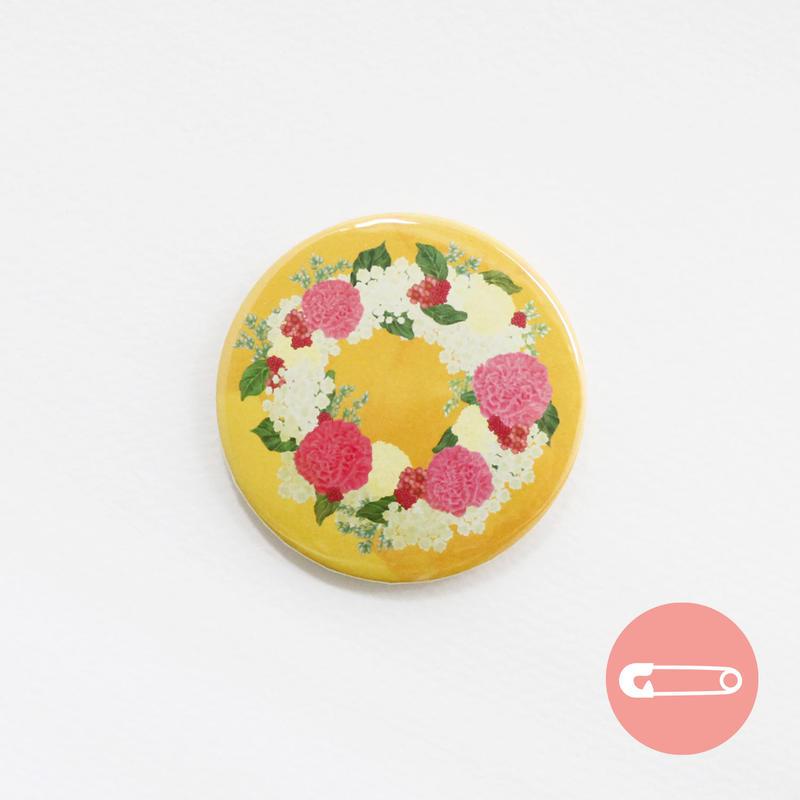 花柄リース_カーネーション【54mm】