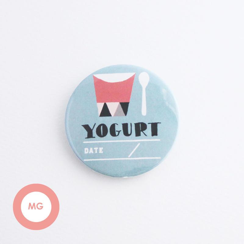 描く缶バッジ_yogurtB_マグネット【54mm】