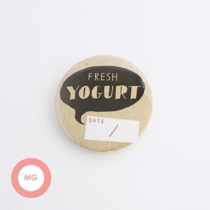 描く缶バッジ_yogurtA_マグネット【54mm】