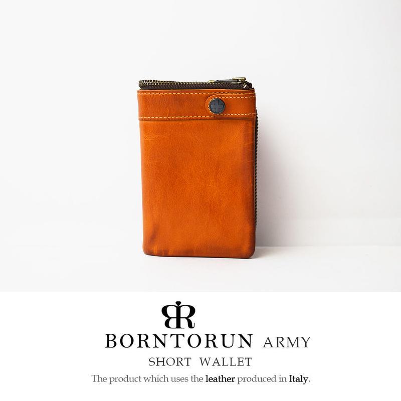 BORNTORUN ARMY  二つ折り短財布