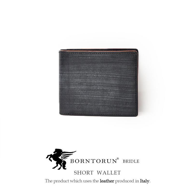 BORNTORUN  BRIDLE  ブライドル2つ折り短財布 イタリアYANKEE社