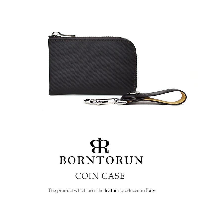 BORNTORUN L字ファスナーコインケース (特注限定色)