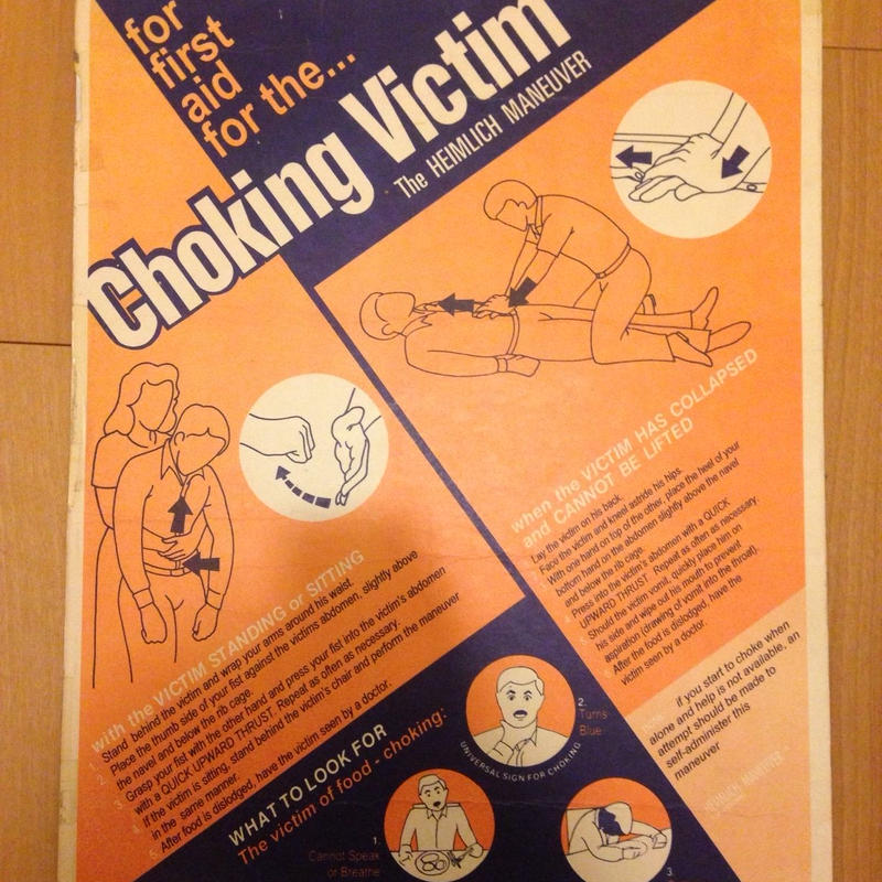 Choking Victim ポスター