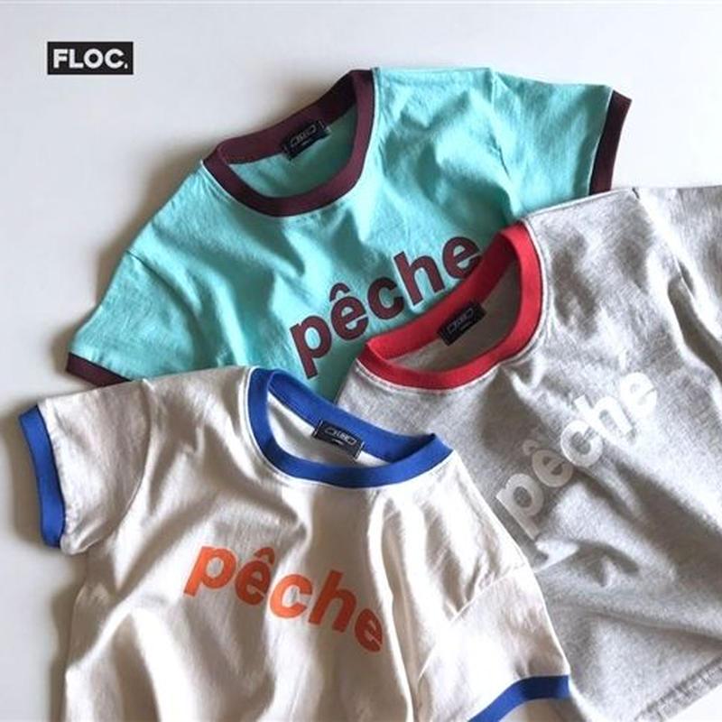 三色とも欲しかったから全部あるんだpecheTシャツ FLOC