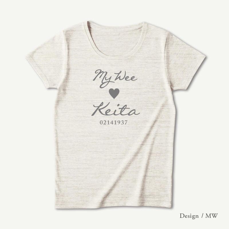 レディース トライブレンド半袖Tシャツ / オートミール