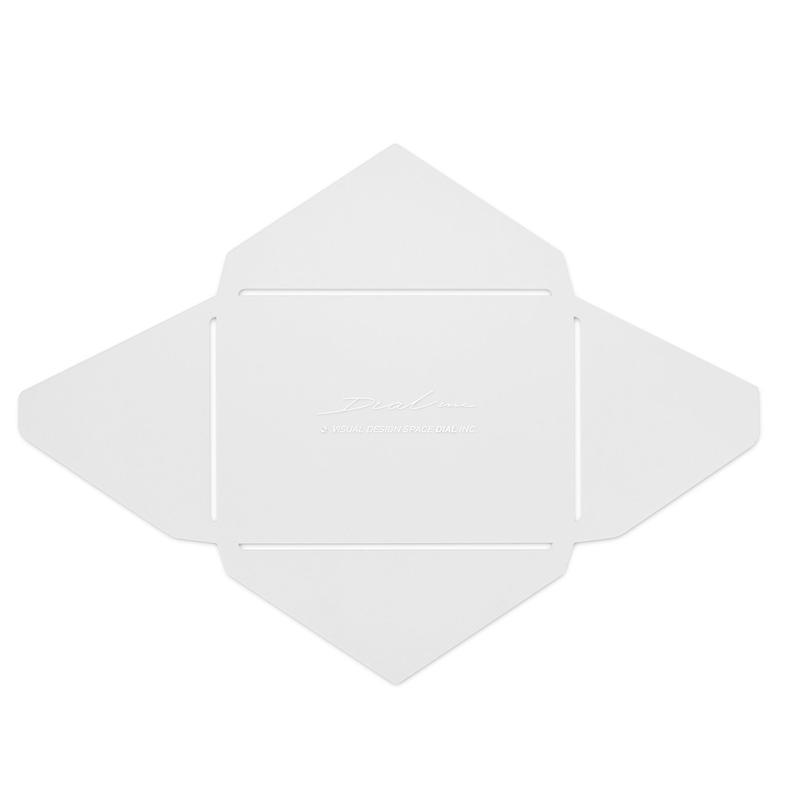 【商品番号:TMP-0001】封筒テンプレート