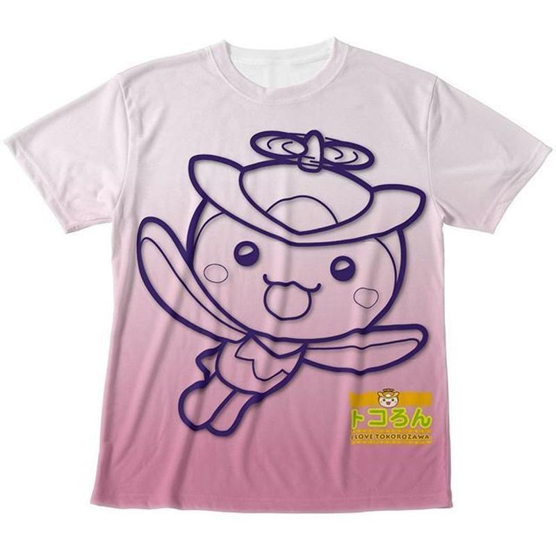トコろんFGG Tシャツ ピンク