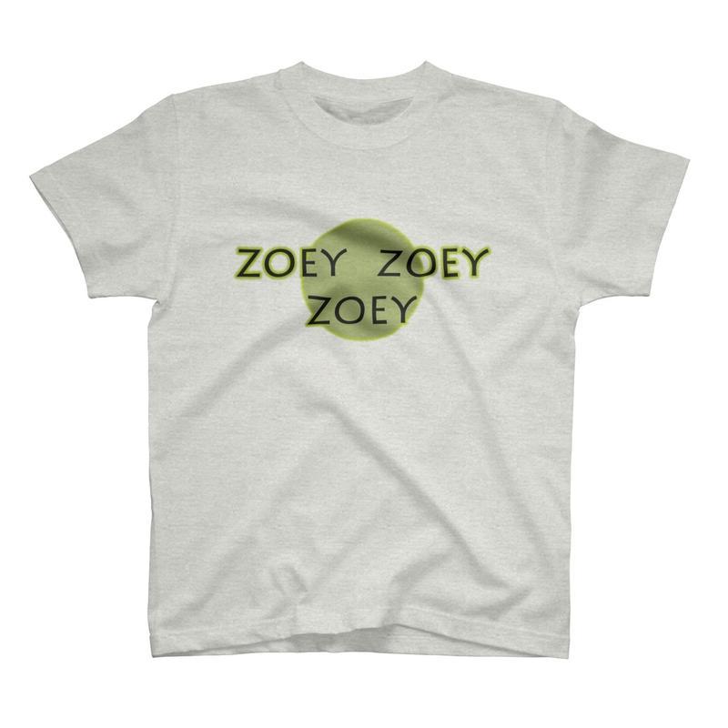ZOEYオリジナルTシャツ オートミル