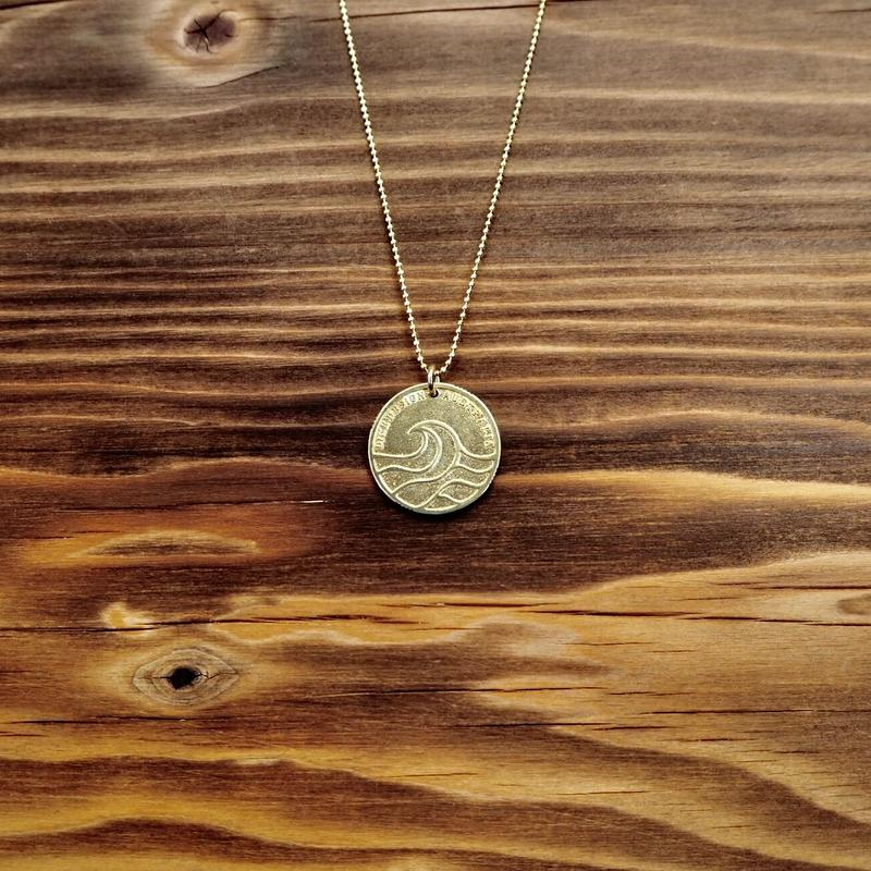Nature COiN Pendant Necklace [真鍮]