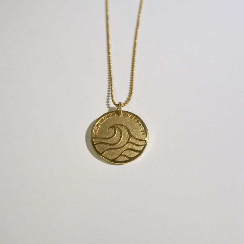 Nature Coin ネックレス [真鍮]