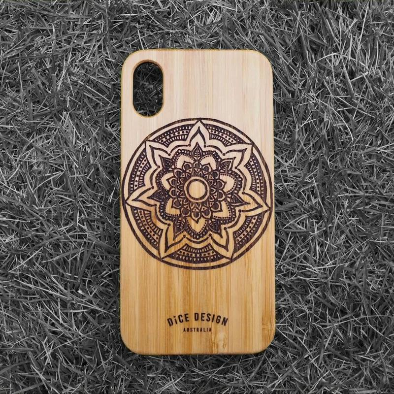 "Bamboo iPhone case ""Mandala A"""