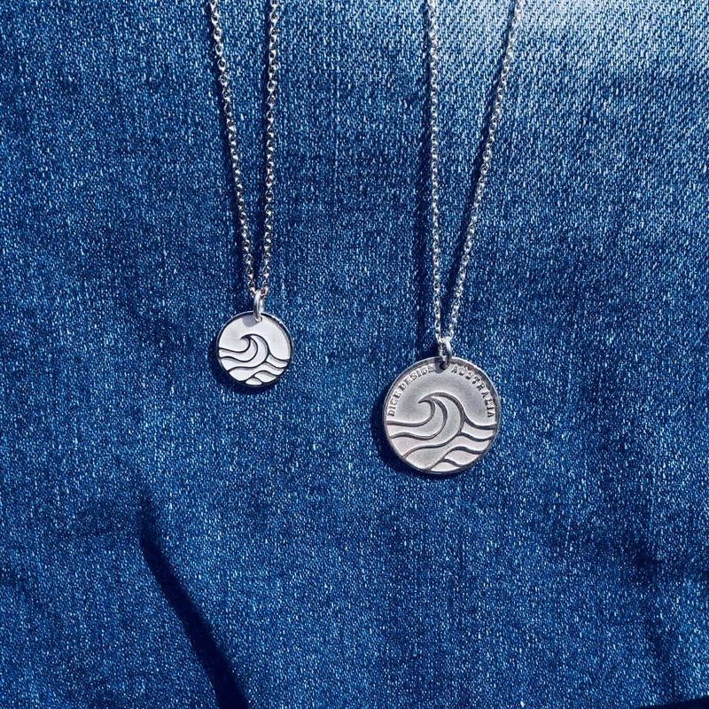 Nature coin/Mini Pendant Necklace  [シルバー925]