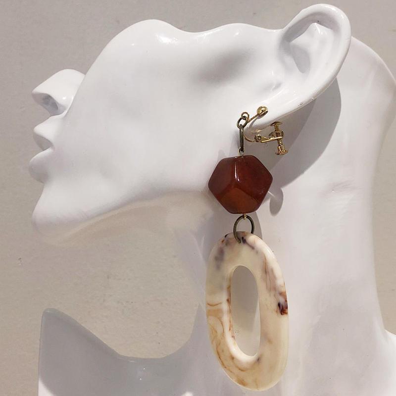 LINK earring #399(金属アレルギー対応)  ※代引不可