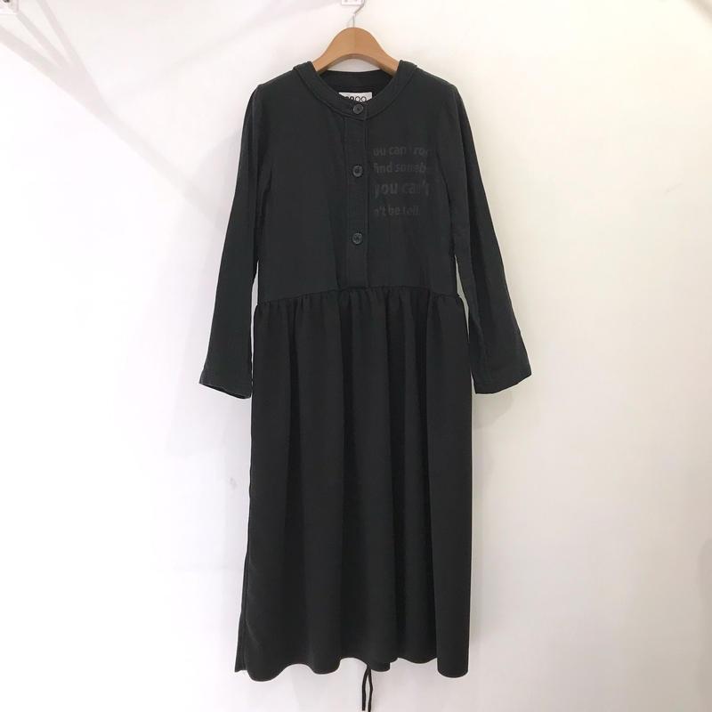 00○○ 切替えワンピース(ロングスカート ギャザーver. ) /1904-01
