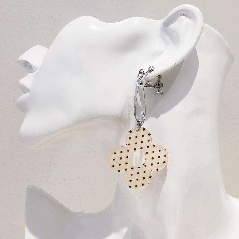 LINK earring #471(金属アレルギー対応)  ※代引不可