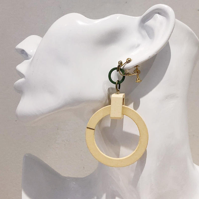 LINK earring #398(金属アレルギー対応)  ※代引不可