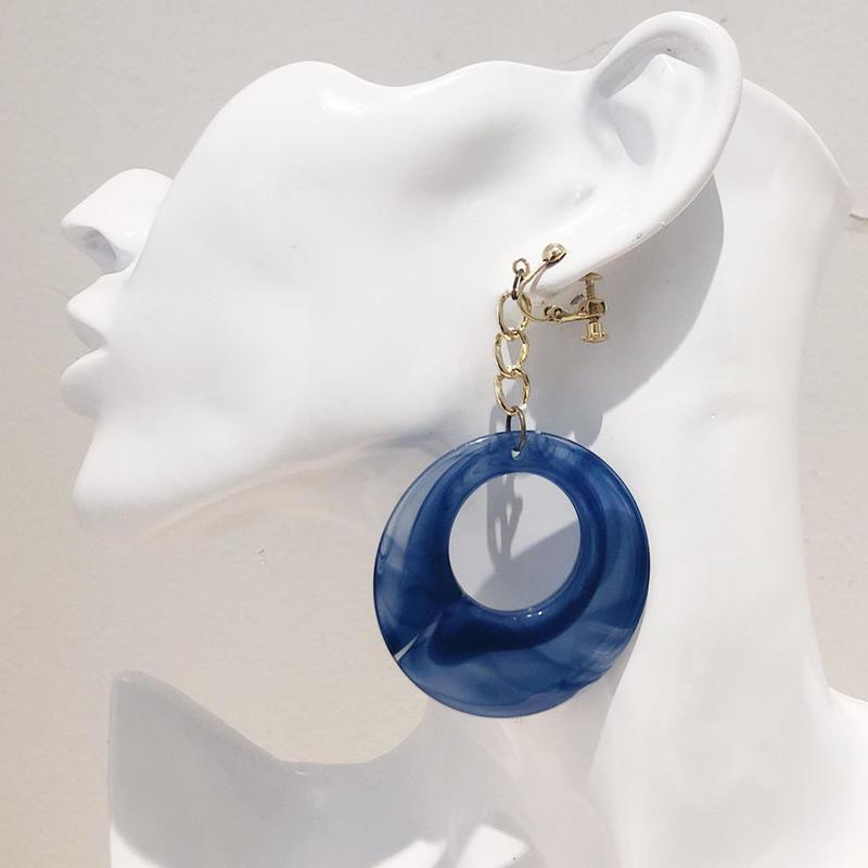 LINK earring #453(金属アレルギー対応)  ※代引不可