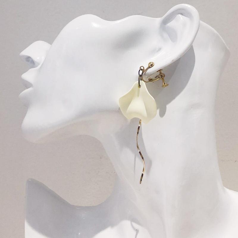 LINK earring #442(金属アレルギー対応)  ※代引不可