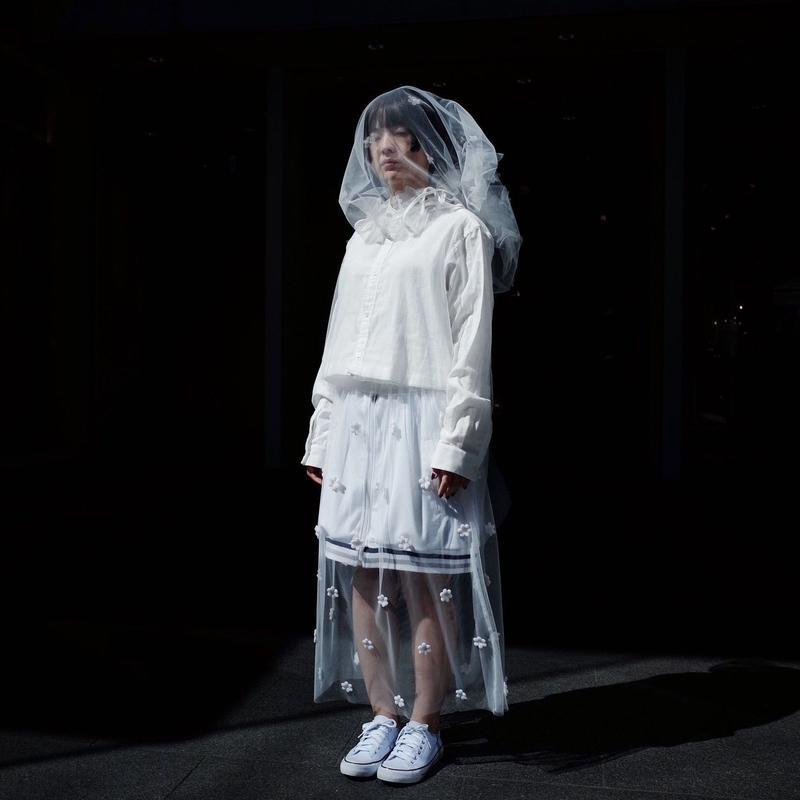 00◯◯ チュールスカート / 1903-26 WHITE