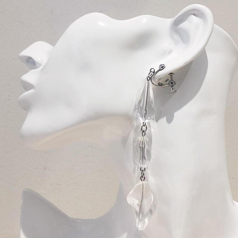 LINK earring #472(金属アレルギー対応)  ※代引不可