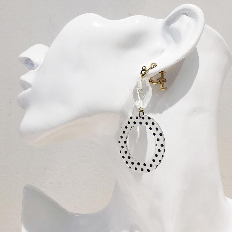 LINK earring #467(金属アレルギー対応)  ※代引不可
