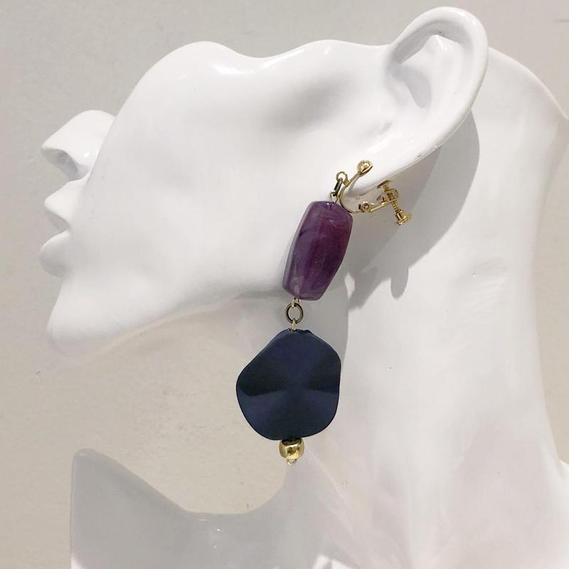 LINK earring #401(金属アレルギー対応)  ※代引不可