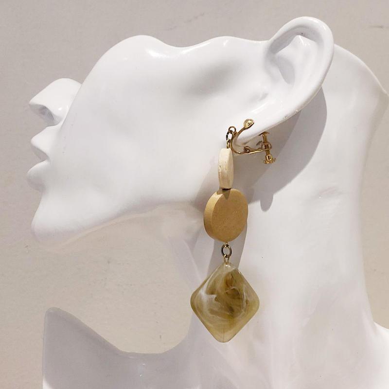 LINK earring #397(金属アレルギー対応)  ※代引不可