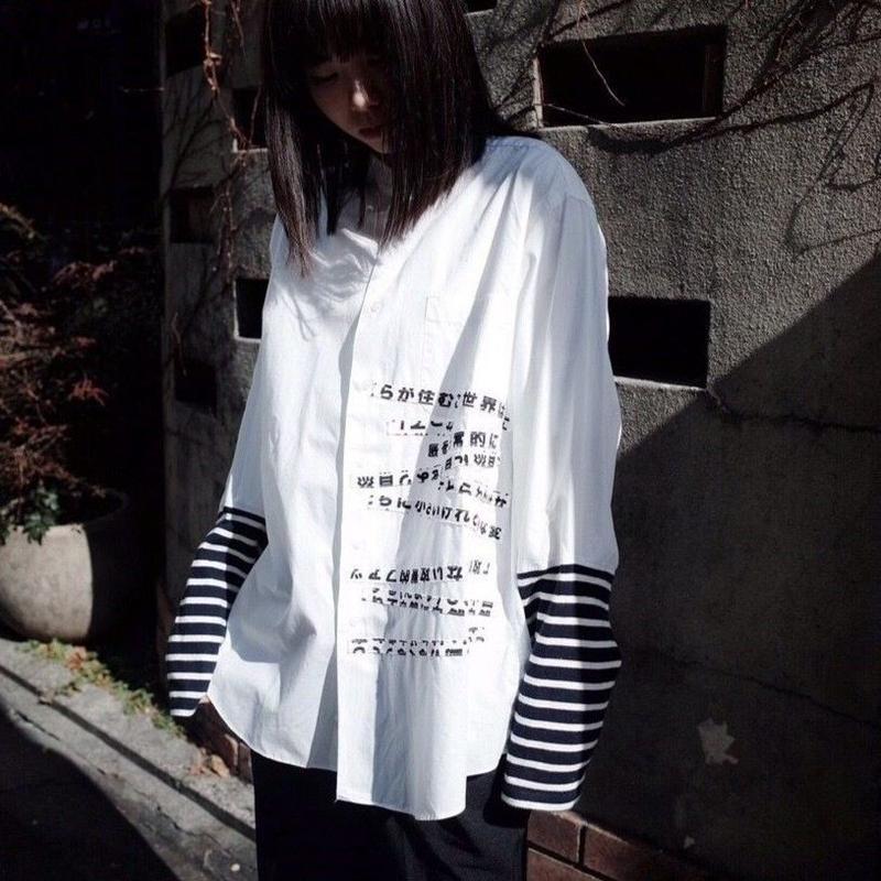 00○○ スライドシャツ /1902-02