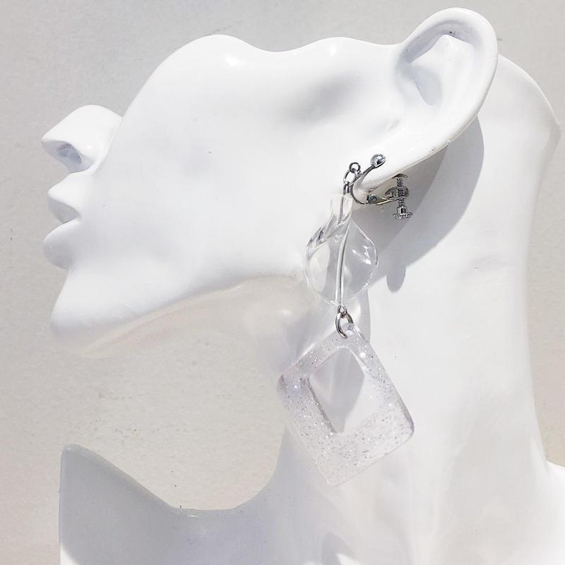 LINK earring #474(金属アレルギー対応)  ※代引不可