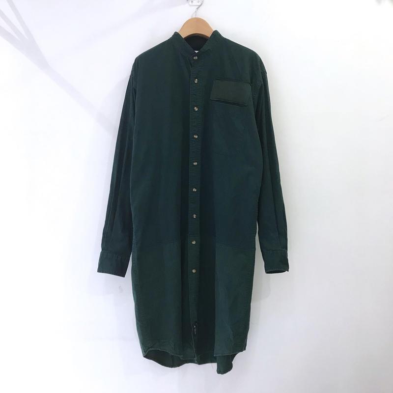 00○○ 切替えロングシャツ /1904-37