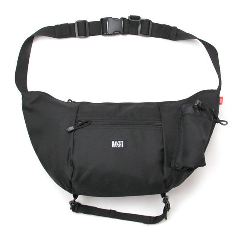 HT-G177001 / BOAT SHOULDER BAG - BLACK