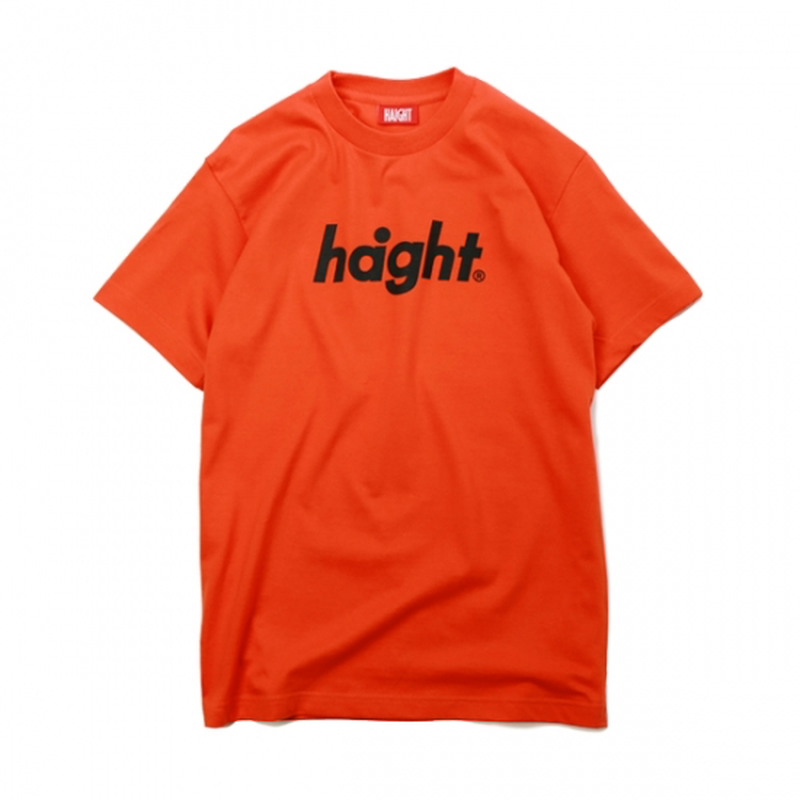 HT-W171002 / ROUND LOGO S/S TEE - ORANGE