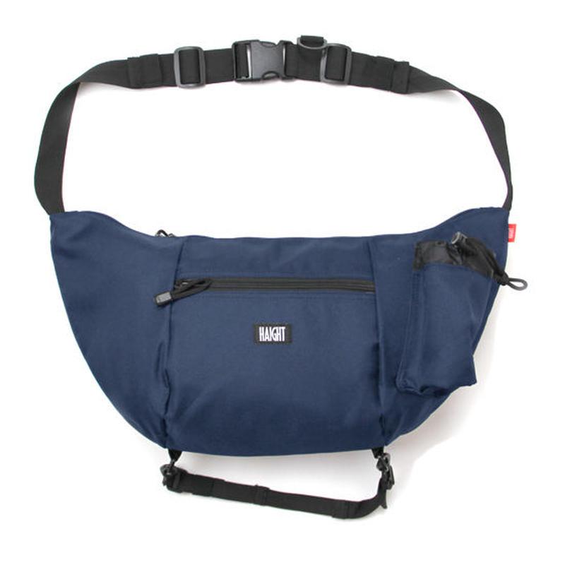 HT-G177001 / BOAT SHOULDER BAG - NAVY