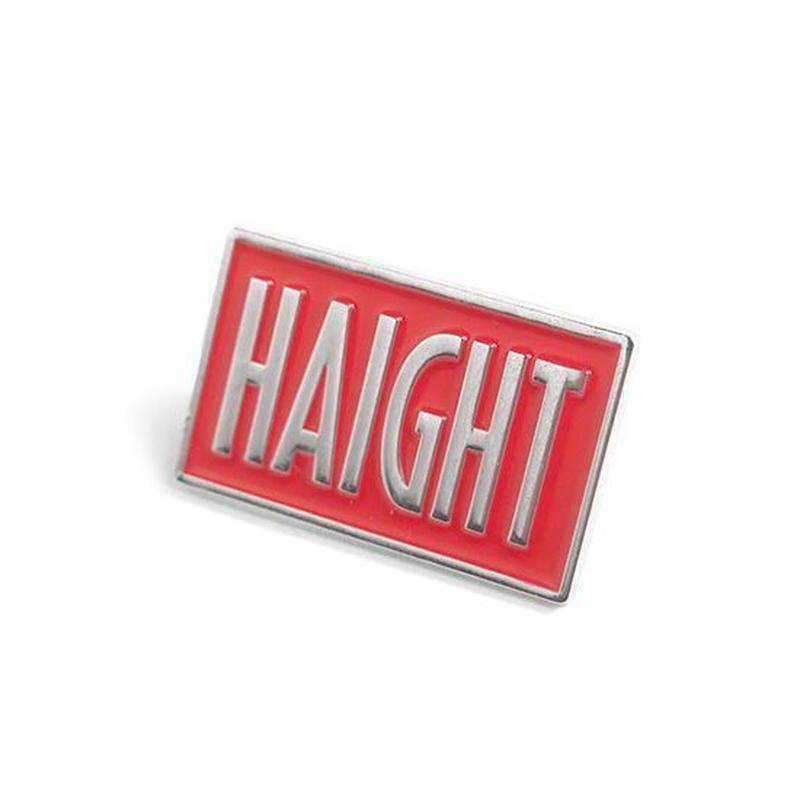 HT-G177006 / BOX LOGO PIN BADGE - RED
